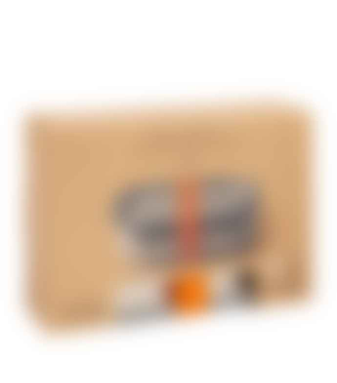 Black + Blum Orange Stainless Steel Lunch Box