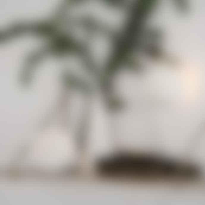 Kähler 120 Mm Snow White Nobili Tealight Holder