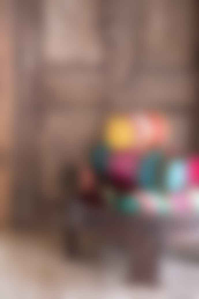 Ian Snow Brocade And Rayon Velvet Bolster Cushion