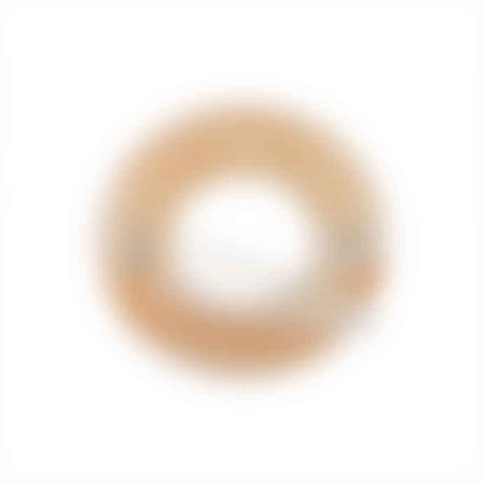 Machete Peach Petit Round Hair Clip