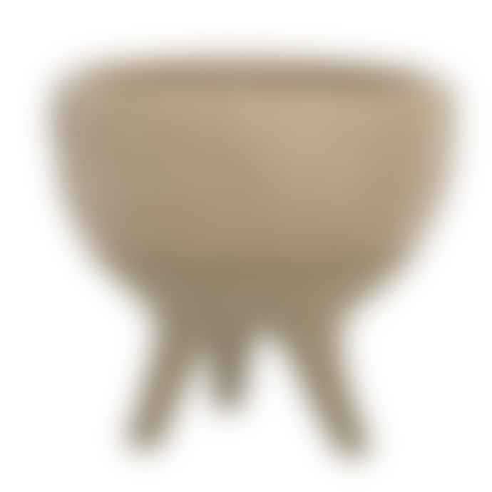 Bloomingville Three Legged Stoneware Pot