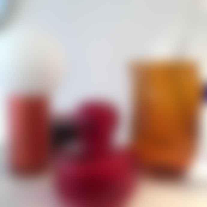 Marimekko Flower Vase Red