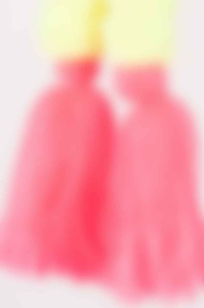 Ian Snow Neon Pompom Bag Charm