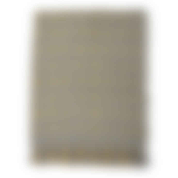 Bloomingville Throw Grey/Yellow Acrylic
