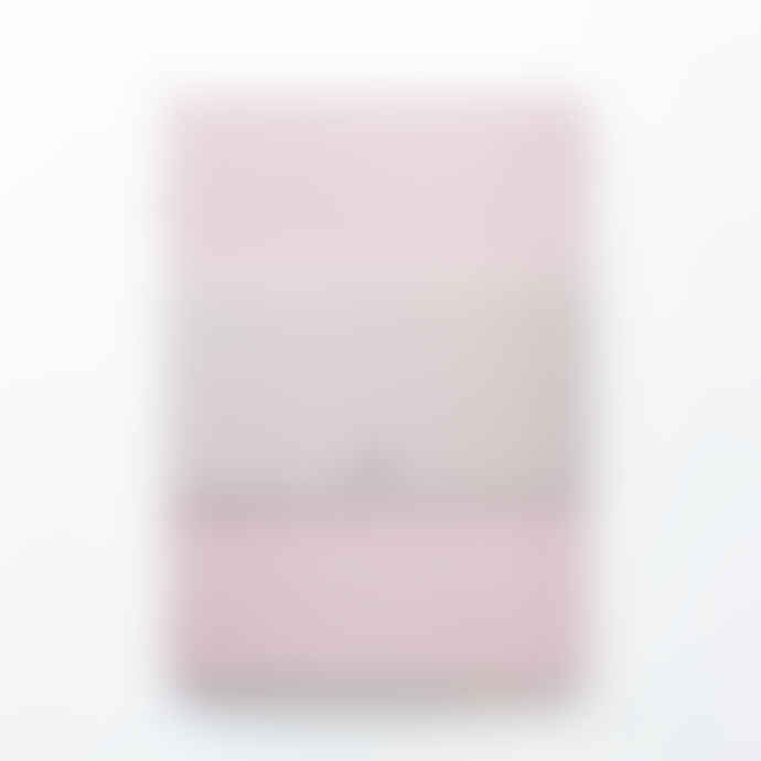 Ola Medium Kaffe Pink Pattern Notebook