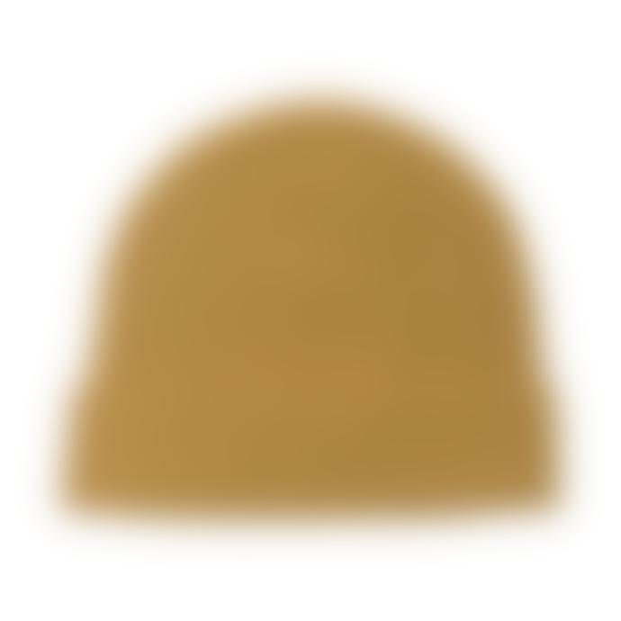 Jennifer Kent Gold Merino Wool Rib Hat