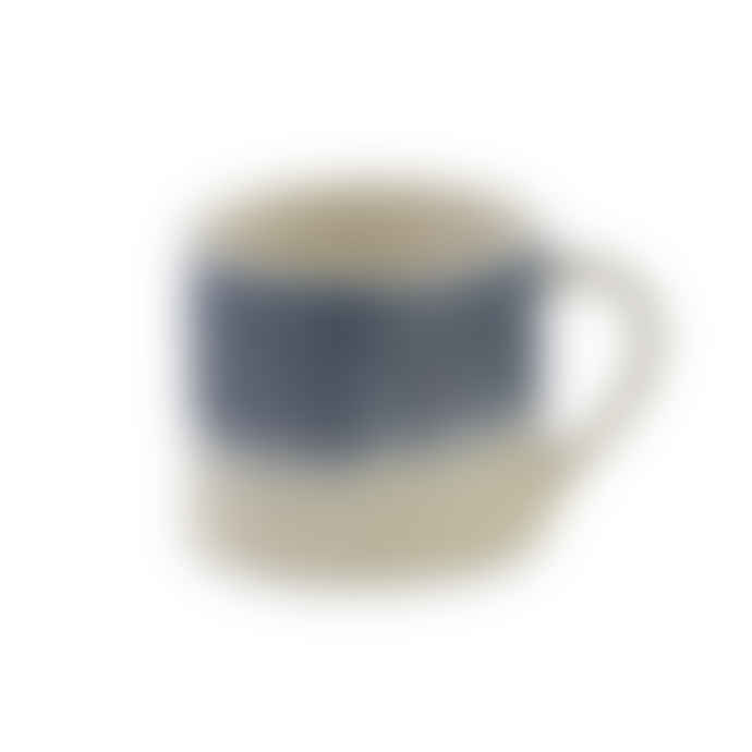 Nkuku Blue & White Karuma Ceramic Mug