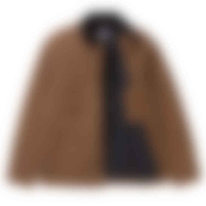 Carhartt OG Chore Coat In Hamilton Brown Aged