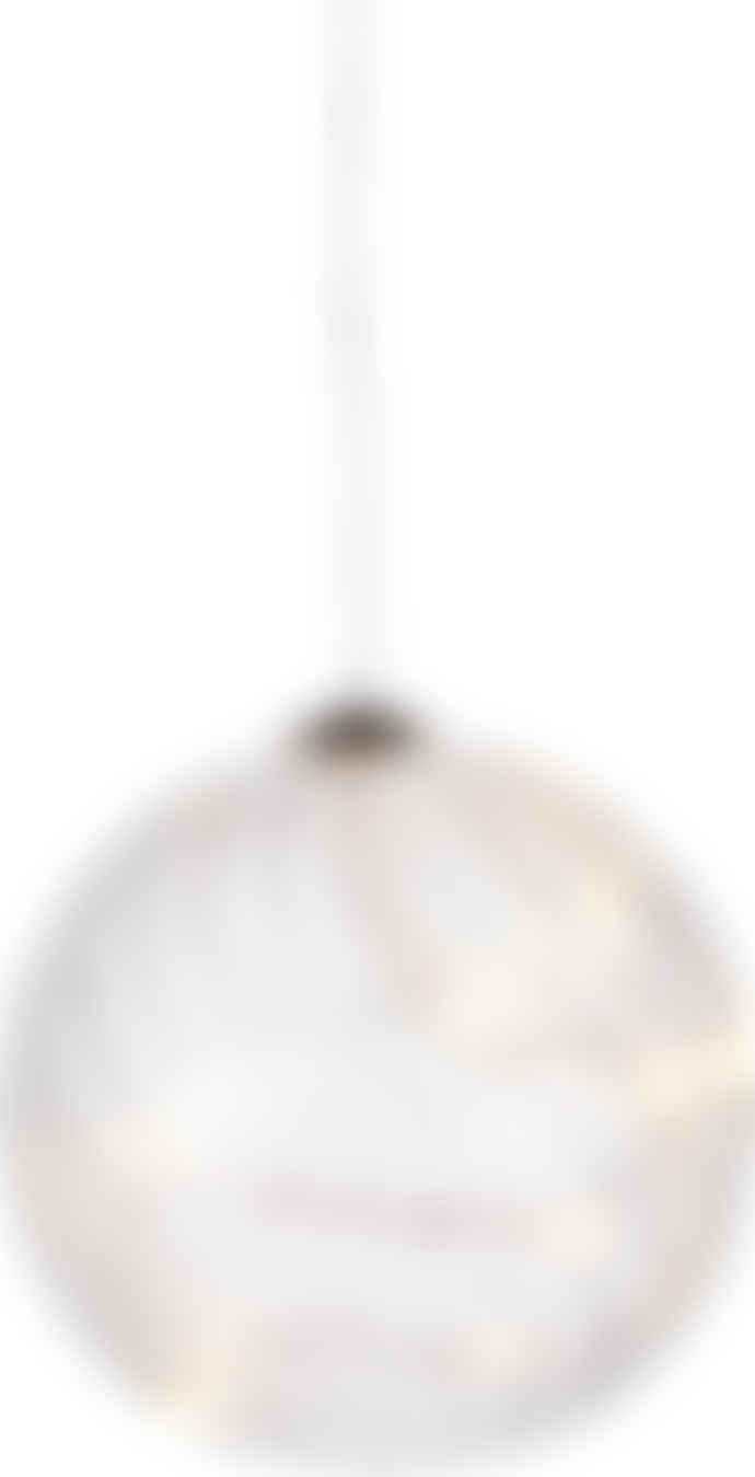 Sirius Company AS 10 Cm Wave Glass Ball Light Decoration