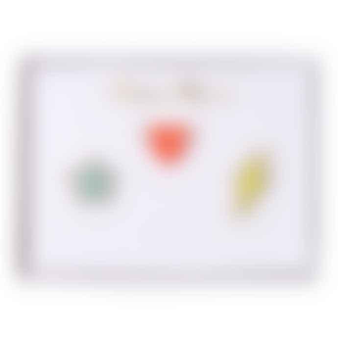 Meri Meri Star Heart Flash Enamel Pins
