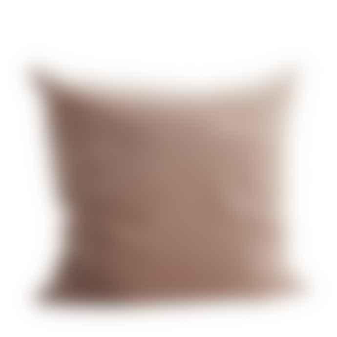 MaheHomeware Nude Velvet Cushion