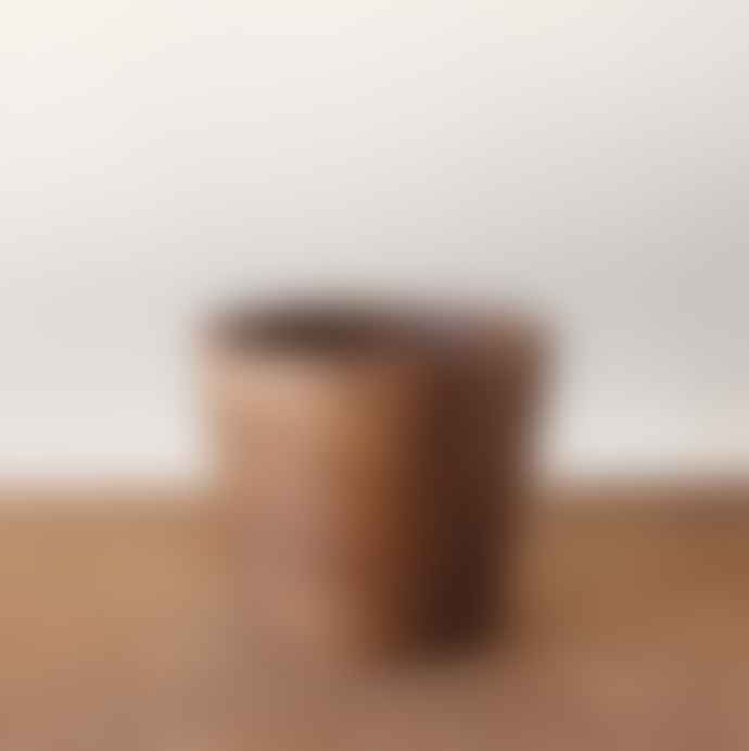 MaheHomeware Peq Teak Wood Vase