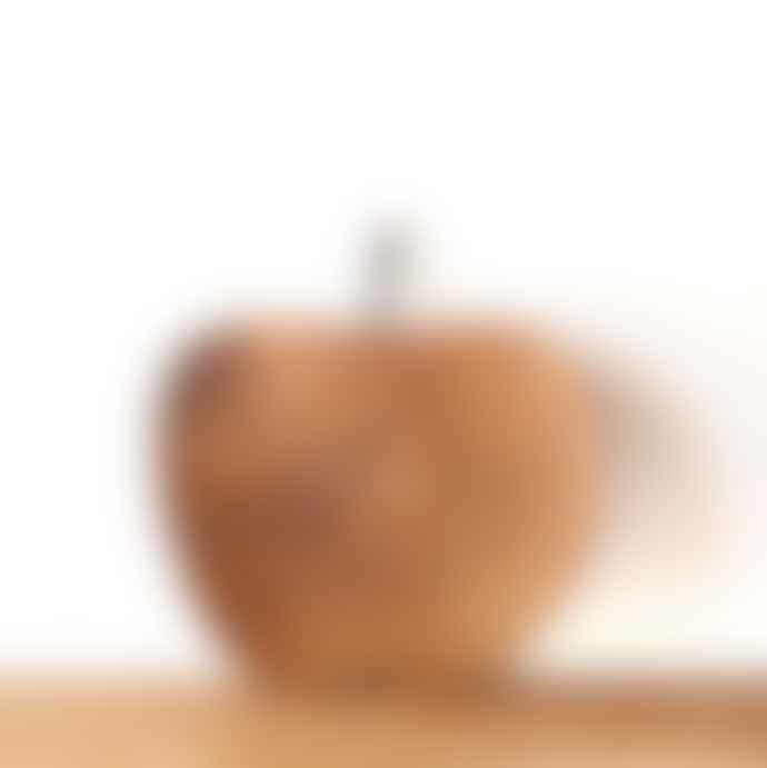 MaheHomeware Apple Teak Plate