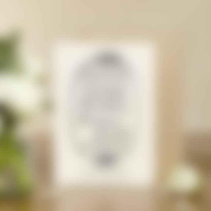 Katie Leamon  Paper Tin China Anniversary Card