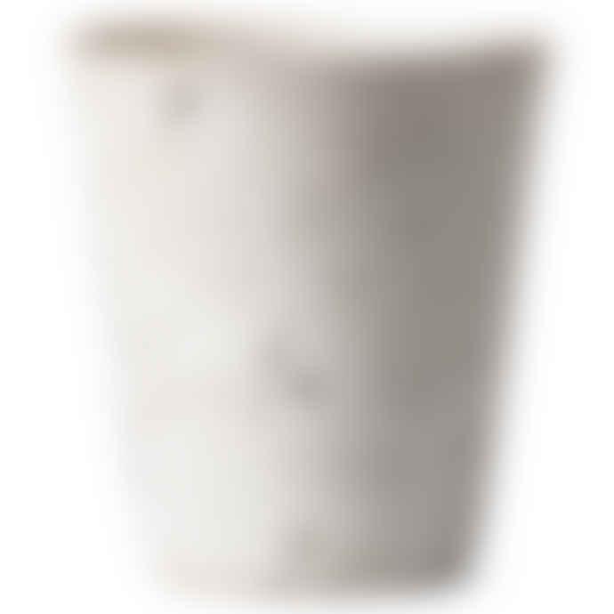 Erika Petersdotter White Matt Lava Cup
