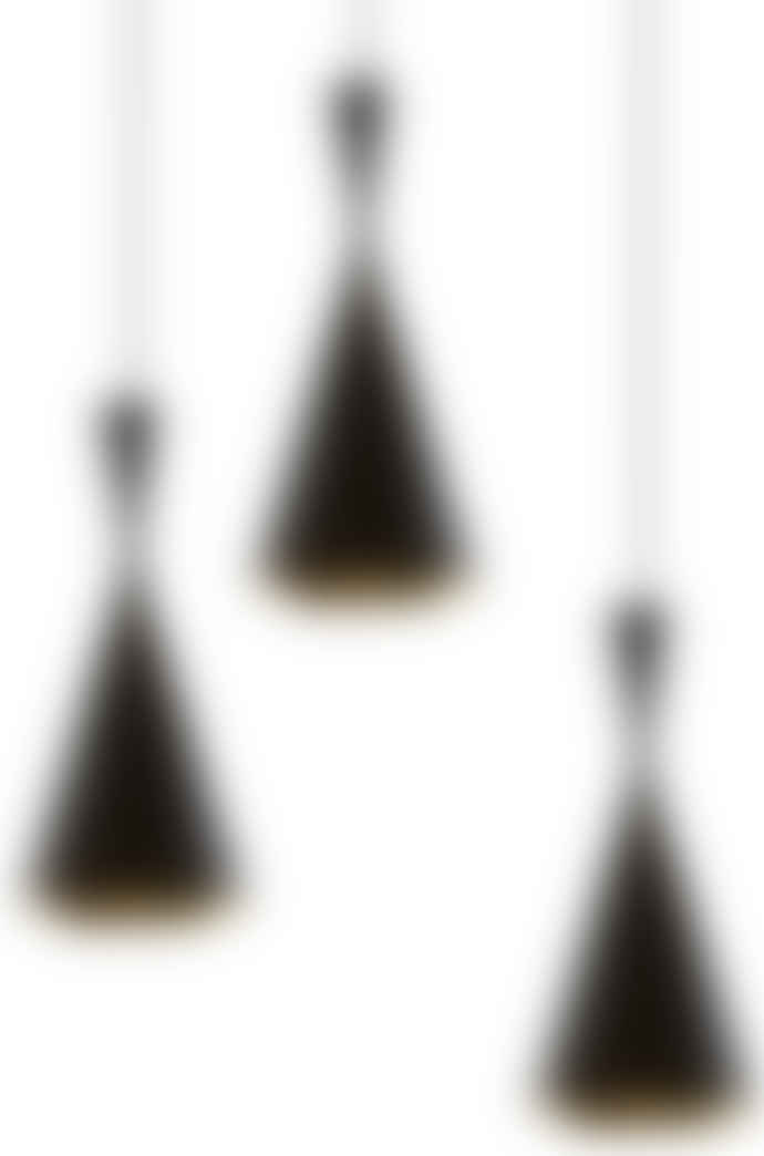 Tom Dixon Beat Tall Black Pendant Lighting