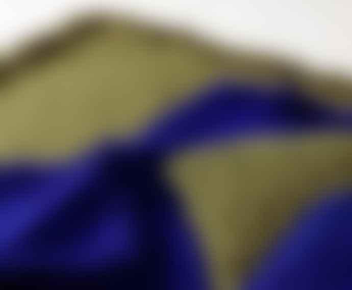 Tom Dixon Electric Blue Boucle Cushion