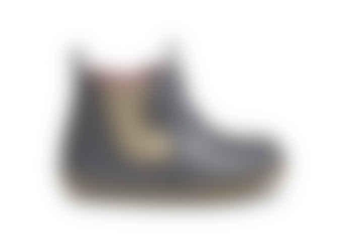 Bobux Girls Charcoal Shimmer 'Jodhpur' First Walker Boots