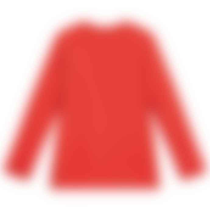 Paul Smith Junior Red Boys 2-6Y Cotton Long Sleeve Sal T-Shirt