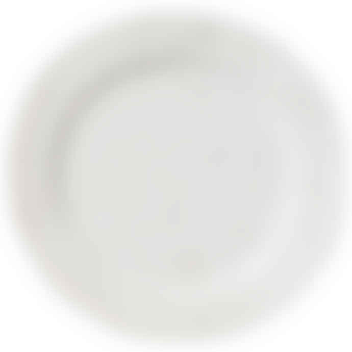 Erika Petersdotter White Blank Lava Plate