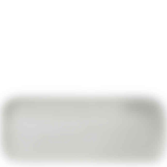 Erika Petersdotter White Earth Sushi Plate