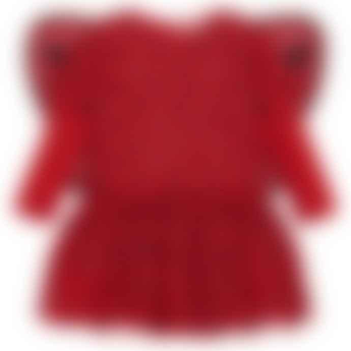 Stella McCartney Kids  Red Baby Girls Ladybug Mouse Dress