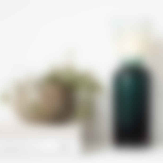 House Doctor Green Funnel Tea Light Vase