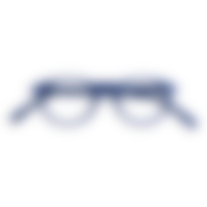 IZIPIZI Reading Glasses in Navy Blue (Frame Shape: #A)
