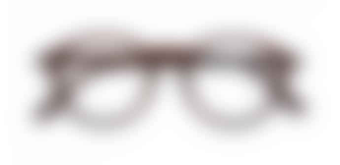 IZIPIZI Reading Glasses in Dark Wood (Frame Shape: #D)