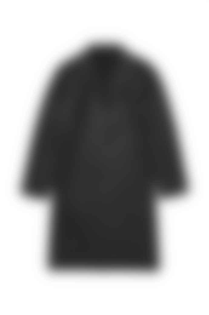 Stutterheim Black Kivik Overcoat