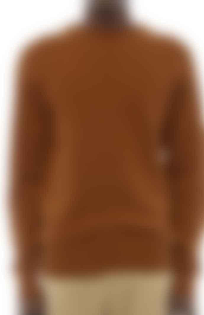 YMC Brown Luddites Crew Sweater