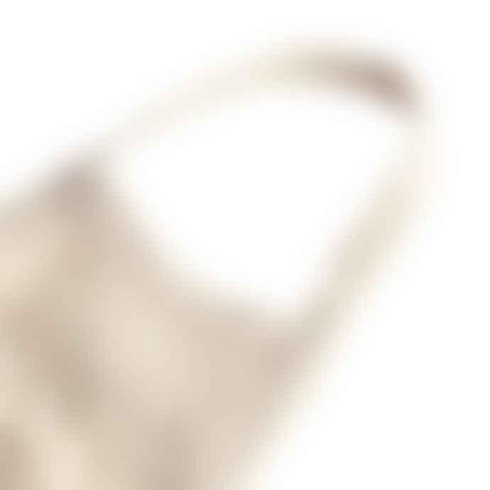 Filt Cotton With Natural Short Handle Net Bag