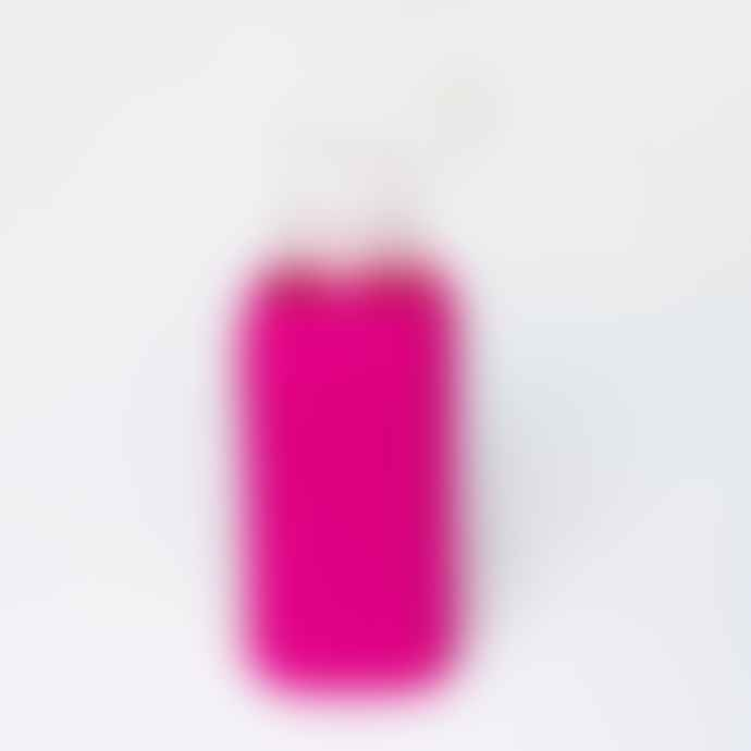 Squireme Hot Pink Glass Bottle