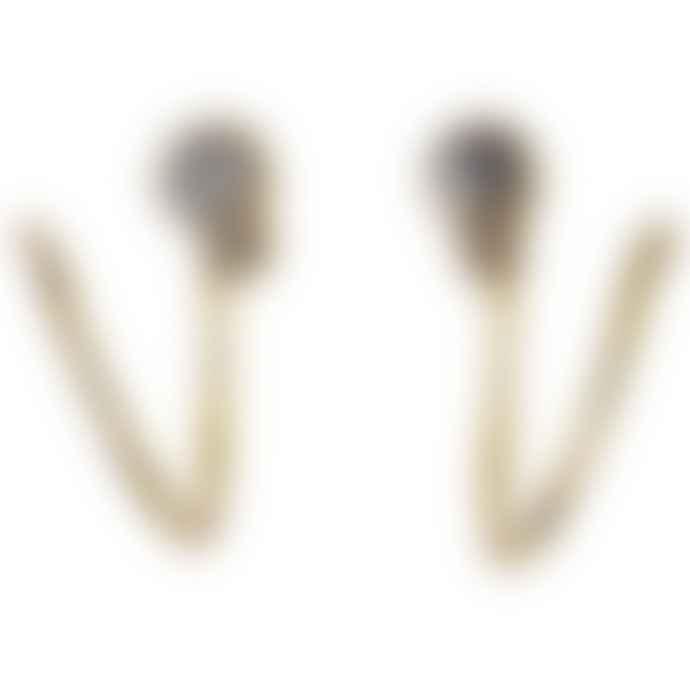 Pilgrim Rose Gold 621812043 Earrings