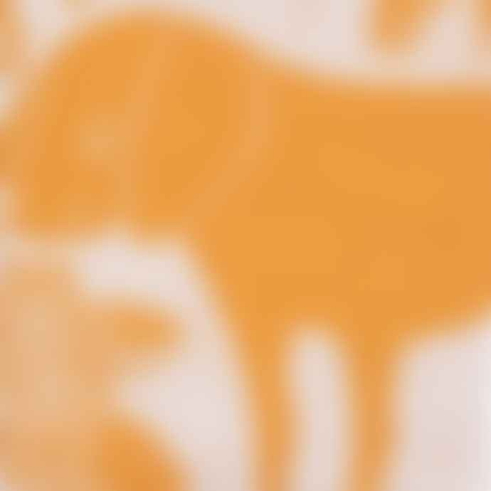 Lapuan Kankurit Cloudberry & White Koira Dog & Cat Tea Towel