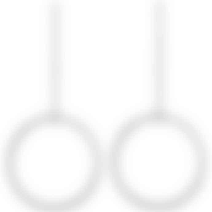 Pilgrim Large Hoop Drop Earrings