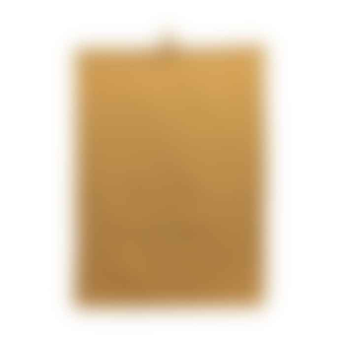 House Doctor Mustard Yellow Waffle Tea Towel