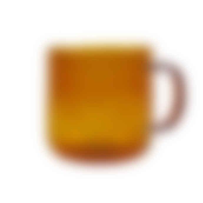 HAY Amber Borosilicate Glass Mug