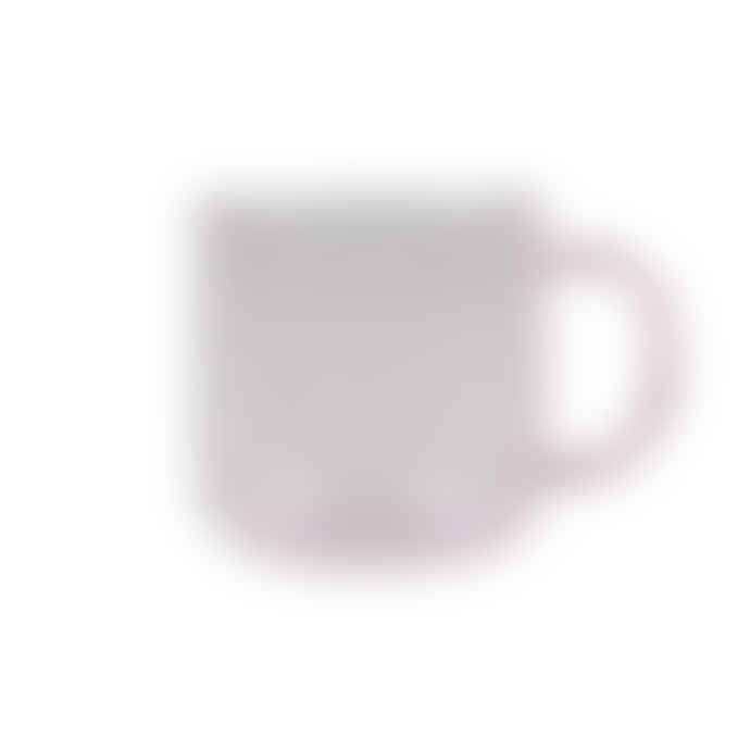 HAY Pink Borosilicate Glass Mug