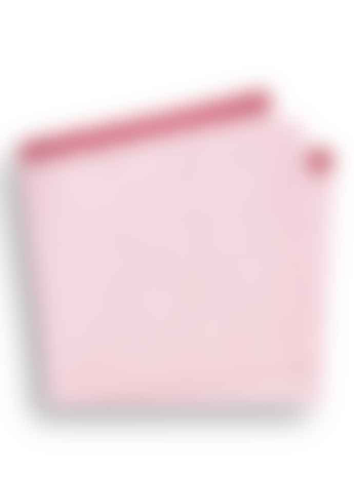 Pink Fine Oxford Trim Pocket Square