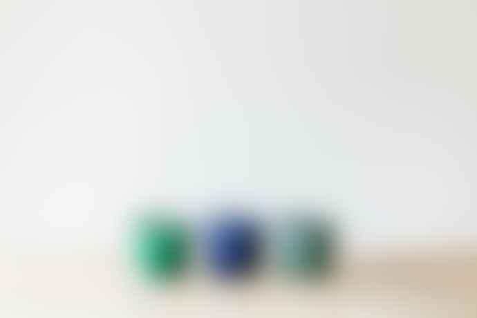 Grand Illusions Turquoise Crackle Glazed Pot