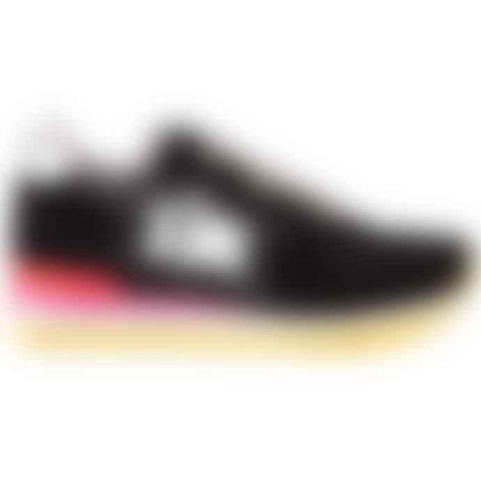 Atlantic Stars Black Lurex  Vega Sneakers