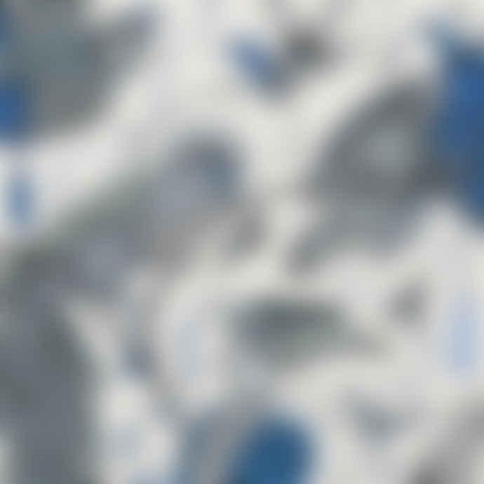 Blue Audubon Birds 43x33cm Tray