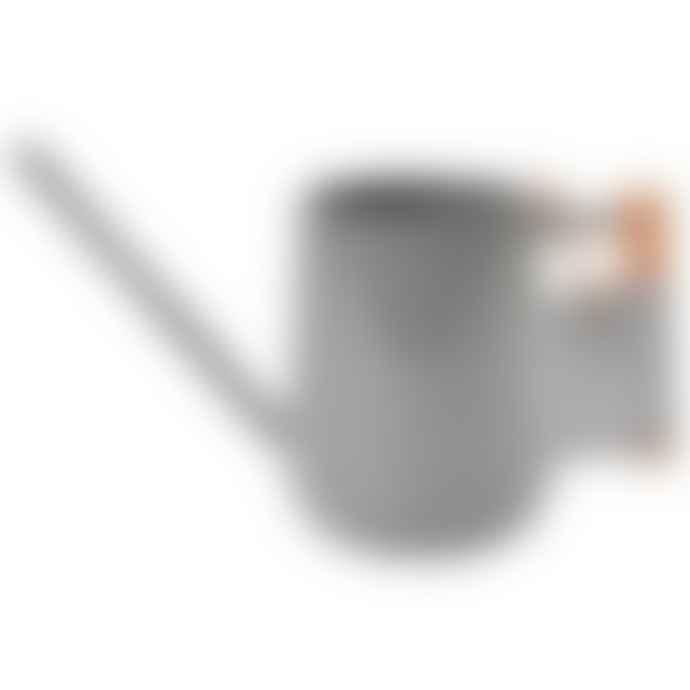 Burgon and Ball Charcoal Grey Enamel Indoor Watering Can