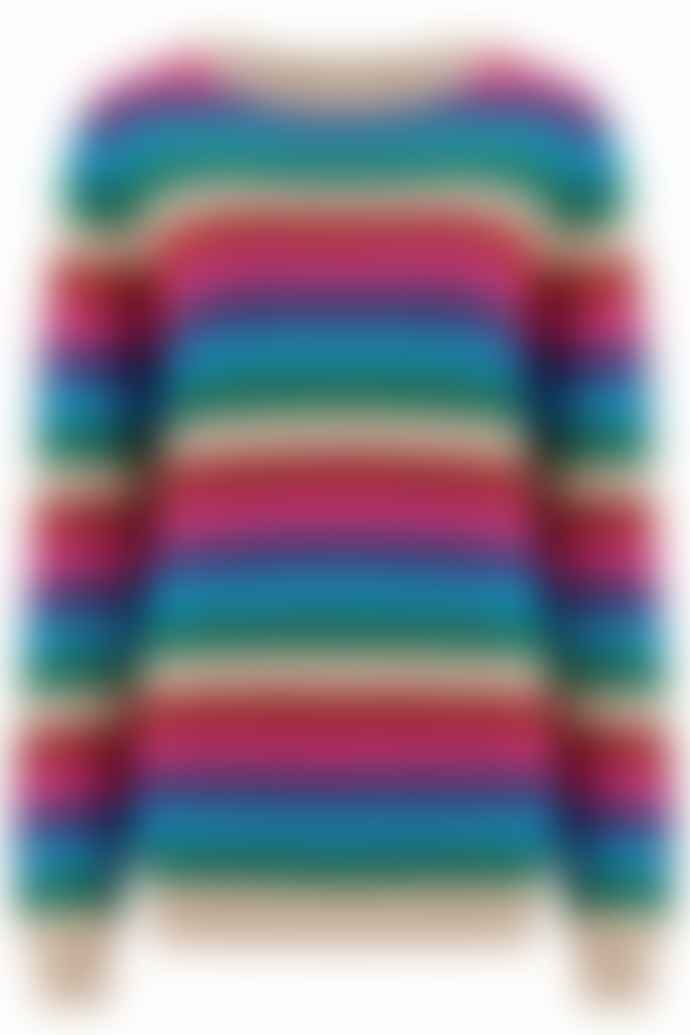 Sugarhill Boutique Rainbow Alex Bright Lurex Sweater