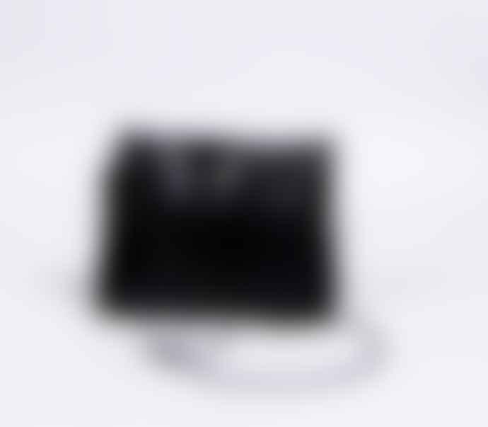 Black Stine Leather Bag