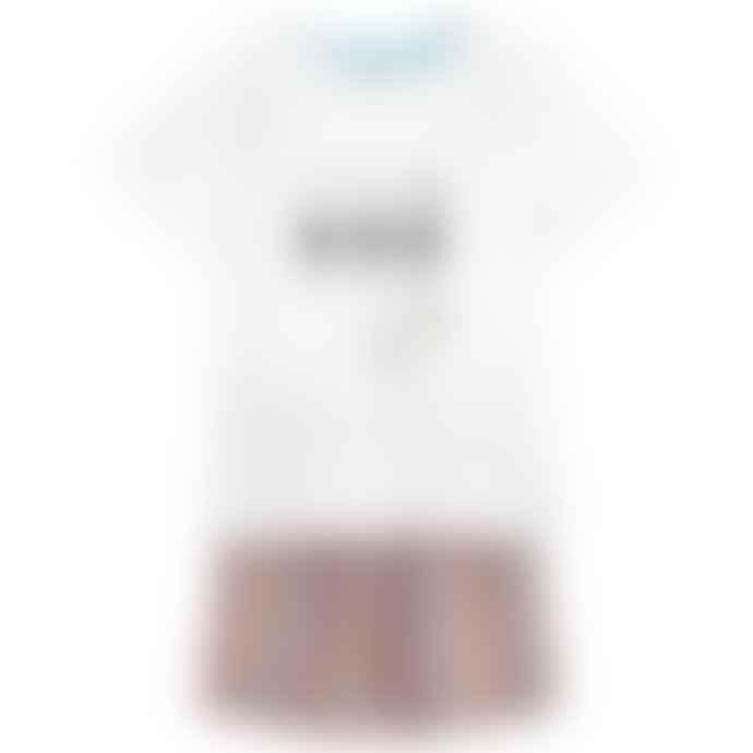 Paul Smith Junior White & Stripes Boys Rochel Short Pyjamas