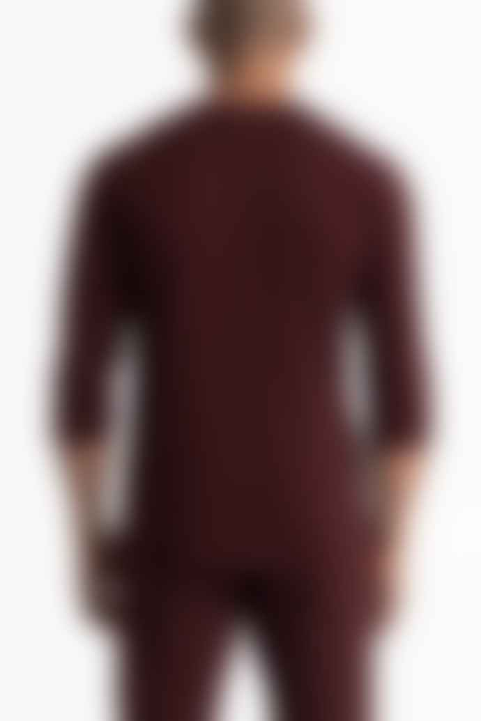 Reigning Champ Crimson 3/4 Sleeve T-Shirt