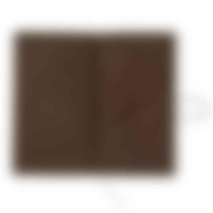 Traveler's Company Traveler's Notebook Brown Leather Regular Size