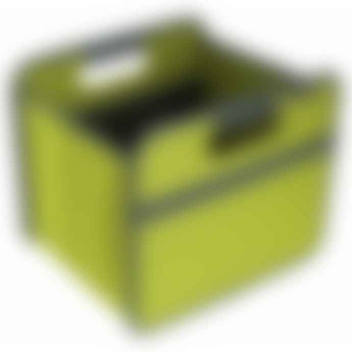 Meori Heavy Duty Premium Foldable Storage Carry Box Tiny Classic Green